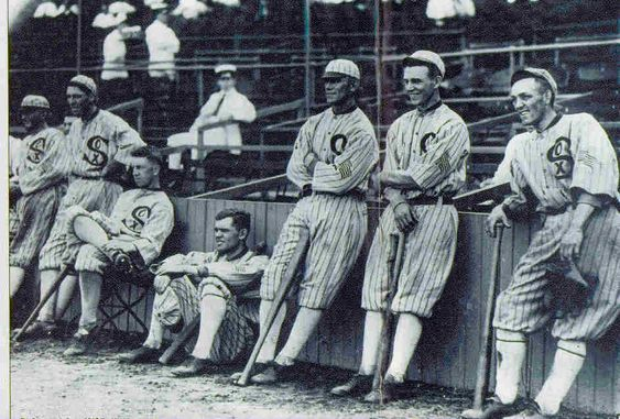 """Black Sox Scandal  May 23, 1919  Members of the American League champion Chicago White Sox, including Shoeless Joe Jackson. Are accused of throwing the World Series against the Cincinnati Reds in the infamous """"Black Sox"""" scandal."""