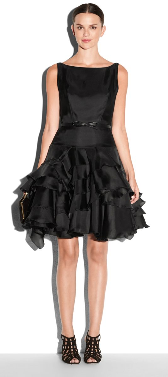MILLY Satin Organza Tara Cocktail Dress millyholiday millymoment ...