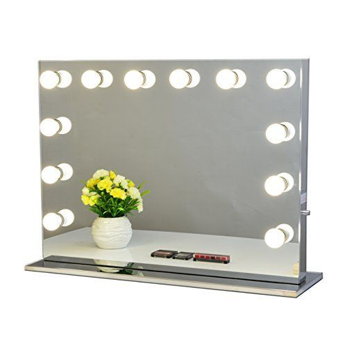 chende hollywood makeup vanity mirror with light bulbs. Black Bedroom Furniture Sets. Home Design Ideas