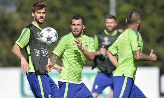 A Vinovo la rifinitura dei bianconeri che si preparano ad affrontare il Monaco per la sfida di Champions