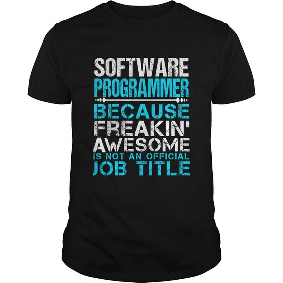 SOFTWARE PROGRAMMER T-Shirts, Hoodies. GET IT ==► https://www.sunfrog.com/LifeStyle/SOFTWARE-PROGRAMMER-109585779-Black-Guys.html?id=41382