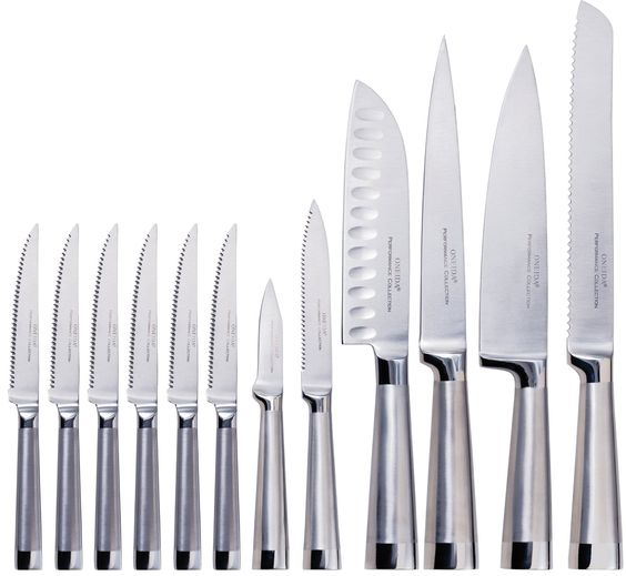 Best Kitchen Knife Set - Every kitchen needs a good knife set. This is it!