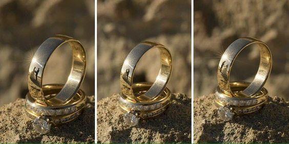Reflejo en anillo