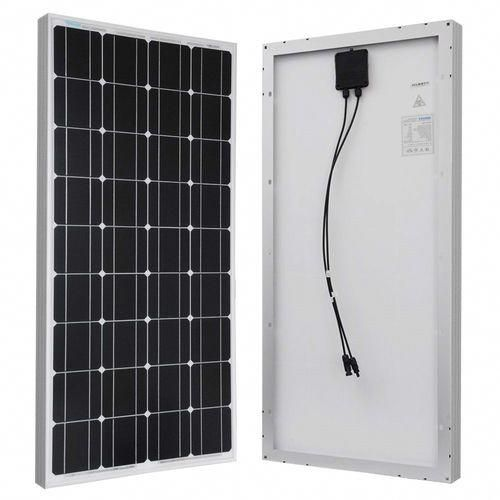 100 Watt Solar Panel Great For 12 Volt Battery Charging Rv Camping 100 Watt Solar Panel Solar Energy Panels Best Solar Panels