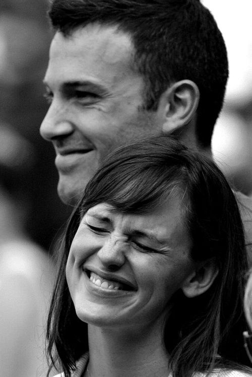 Jennifer Garner and Ben Affleck. I love her, I love him, I LOVE THEM.
