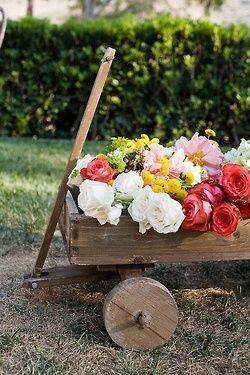carrinho jardim.....