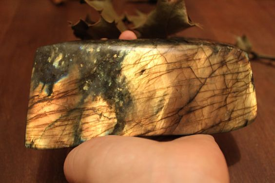 Big Golden Labradorite by ElvenWay on Etsy- protection, inner journeys, mystical...The Magician's Stone