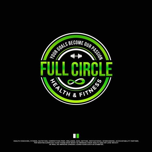 Full Circle Health Fitness Rn Health And Fitness Coach And National Figure Competitor Needs Logo Help Healt Figure Competitor Fitness Coach Health Fitness