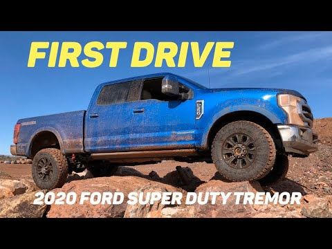 First Drive 2020 Ford Super Duty Tremor Off Road Youtube In