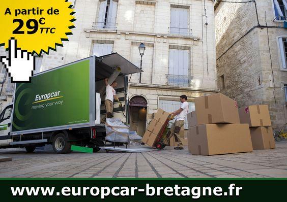 Location d'un camion utilitaire pour un déménagement dans les agences Europcar Bretagne http://www.europcar-bretagne.fr/Offres/offres-speciales-location-offre-demenagement.aspx
