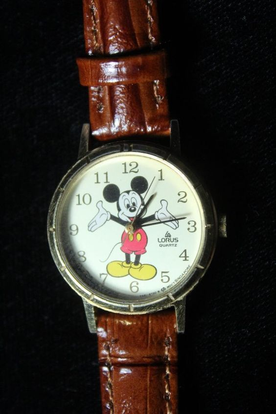 Wonderful Lorus Mickey Mouse watch only 99 cents!!!!!!!!!!!!!!