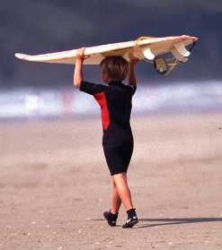 I was about this age when I started surfing. I was a little beach bum. I MISS SAN DIEGO!!! #SanDiegoSurfSchool