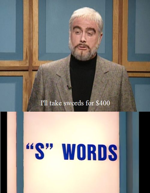 "And ""S"" words became one. 