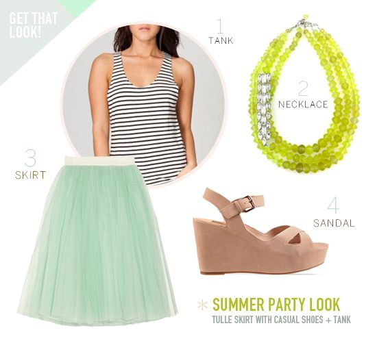 summer party look