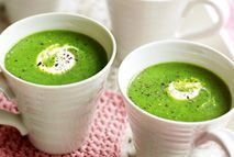 Speedy pea soup – Recipes – Slimming World