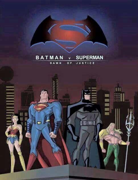 Dawn of justice, Batman vs superman and Batman vs on Pinterest