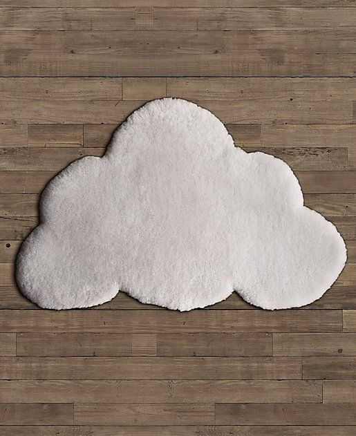 Sheepskin cloud wool rug 39 last 39 purchase for the nursery for Restoration hardware kids rugs