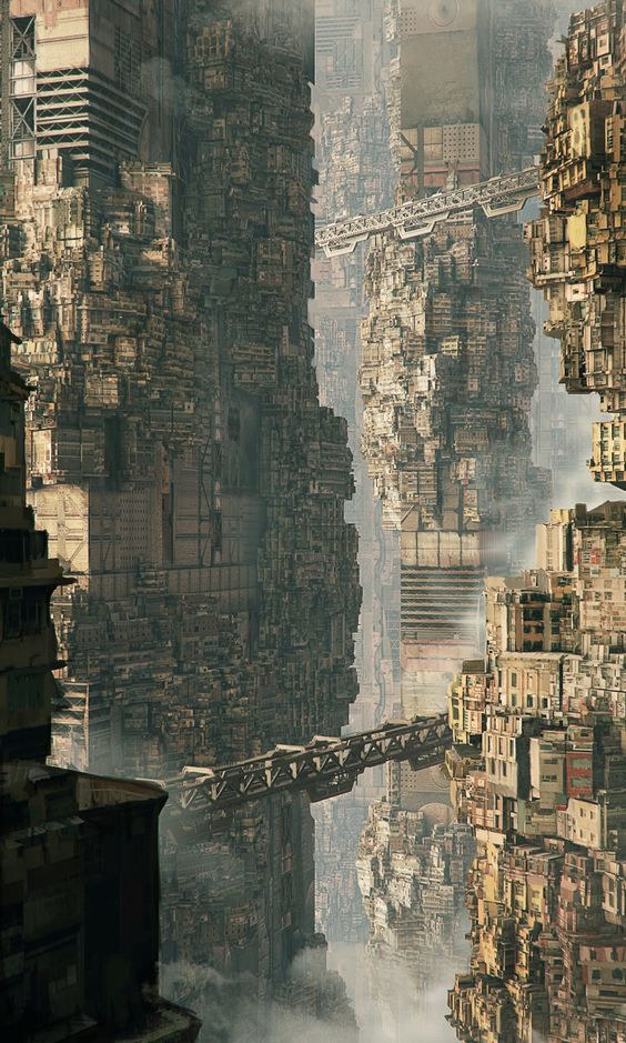 Title: The Concentration City Name: Maciej Drabik Country: Poland Software: 3ds vray Photoshop Submitted: 20th May 2014