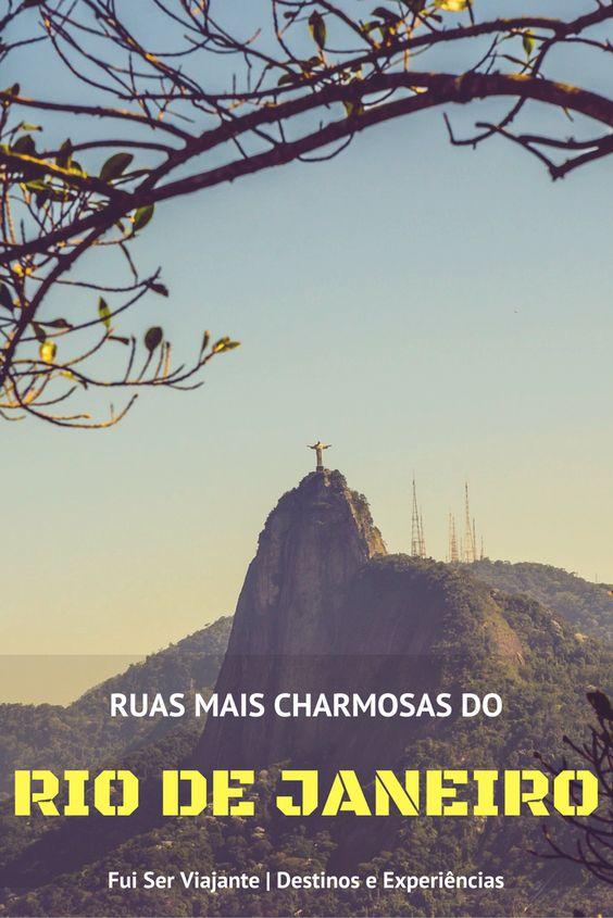 5 ruas mais charmosas do Rio de Janeiro