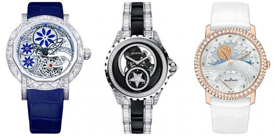 Ladies diamond watches
