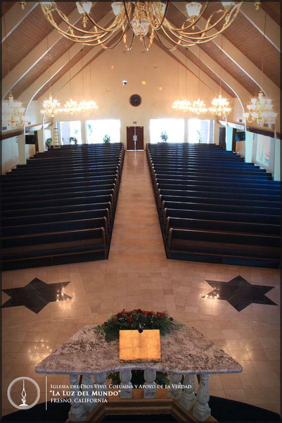 Interiors This Is My Kind Of Log Cabin See Evan: Interior Del Templo De La Iglesia La Luz Del Mundo En La