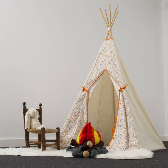 Alice Cook Designs Rainbow Raindrop Teepee