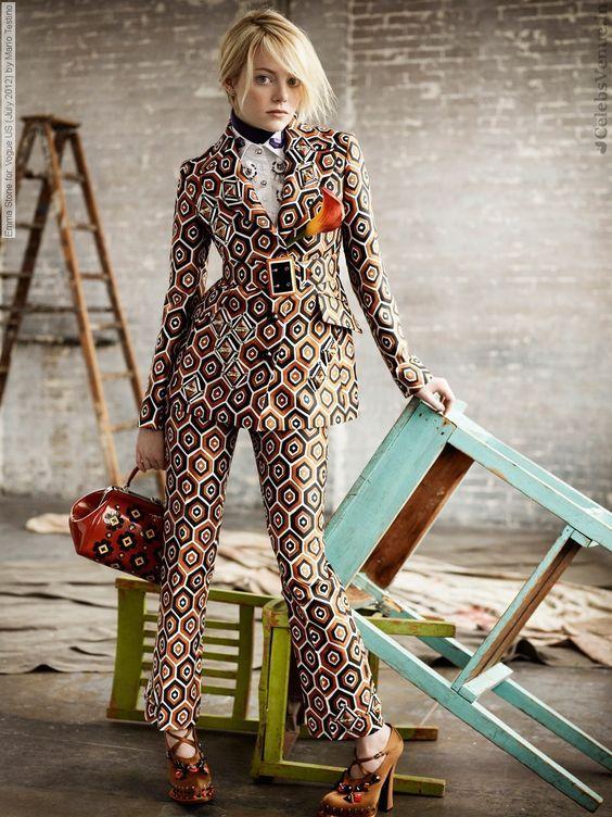 Emma Stone For Vogue Us July By Mario Testino Vogue November 2018