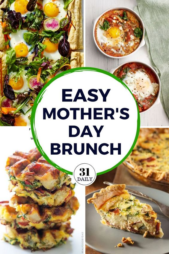 Mother's Day Breakfast and Brunch Recipes - 31 Daily