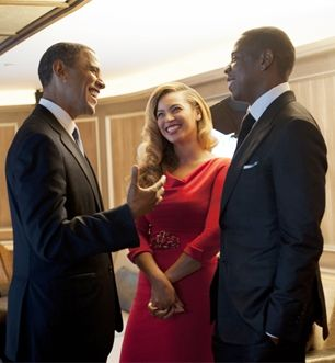 """""""We both have daughters and our wives are more popular than we are.""""  Obama, on the """"sense of kinship"""" he feels with Jay-Z"""