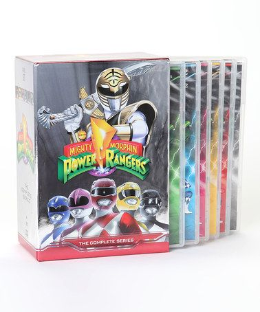 Take a look at this Mighty Morphin Power Rangers: The Complete Series DVD Set by Power Rangers on #zulily today!