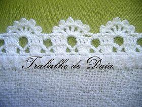 Maroca Artesanatos: Outros biquinhos de croche