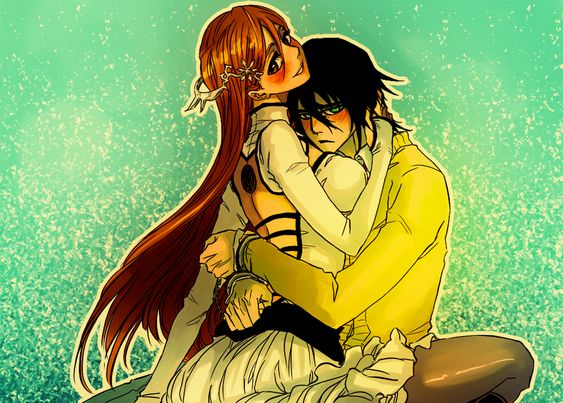bleach ulquiorra and orihime baby - Google Search
