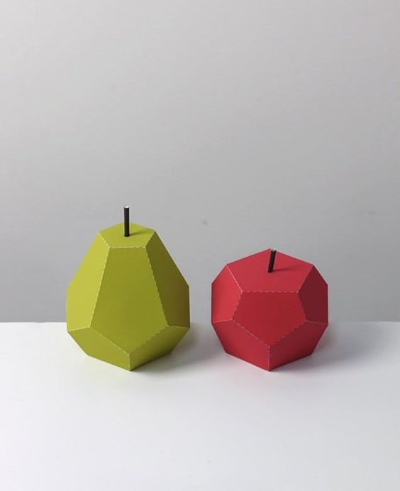 Paper Crafts: Free Foldable Fruit Printables — Mr Printables