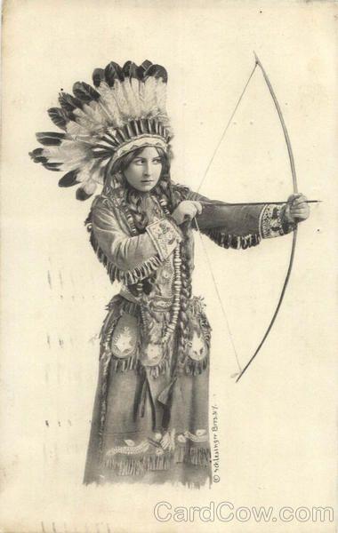 Indian Maiden Series Native Americana