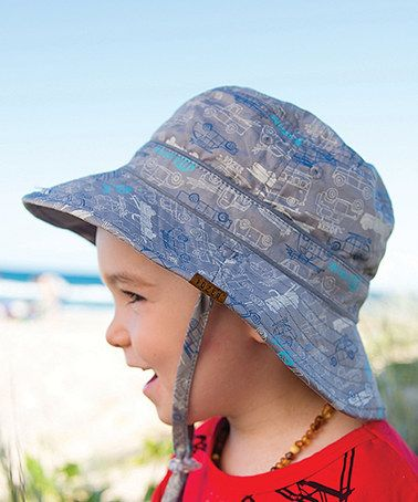 Love this Blue Vinny Reversible Bucket Hat on #zulily! #zulilyfinds