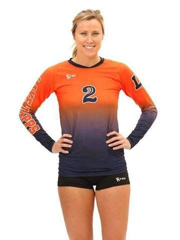 Victory Womens Sublimated Jersey Volleyball Jerseys Sublime Logo Number