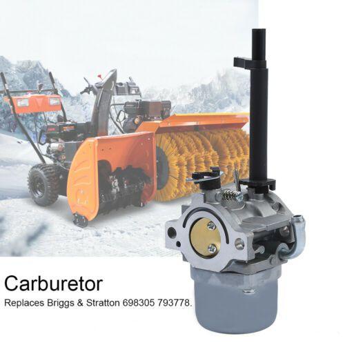10 99 New Carburetor For Briggs Stratton 698305 793778 Nikki Snowblower Snow Blower Snow Blower Lawn Mower Repair Stratton