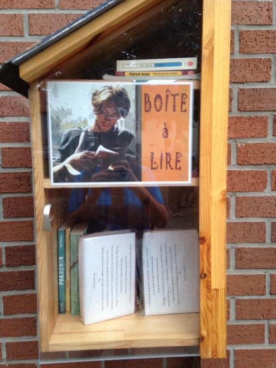 Boîte à livres Fromiee Gerpinnes