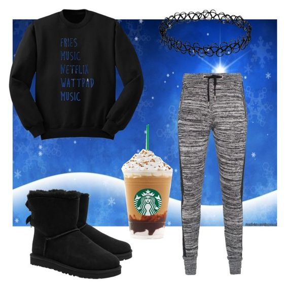 """""""Winter Nights"""" by afashionfangirl230 on Polyvore featuring Zoe Karssen and UGG Australia"""