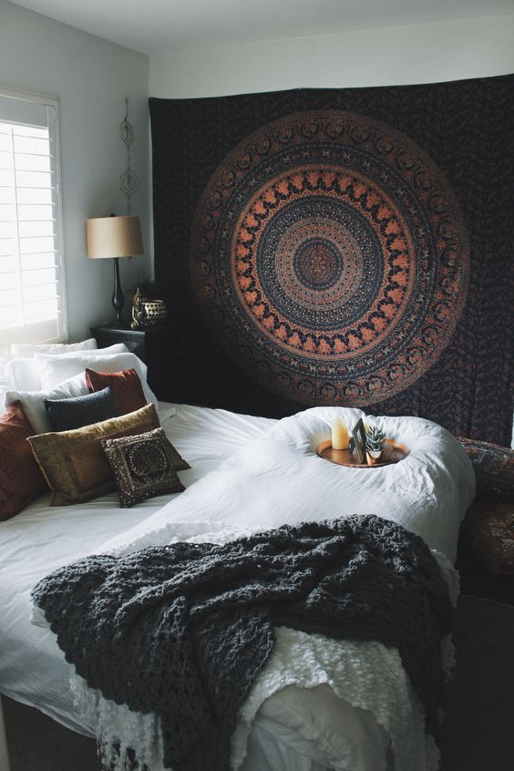 25+ Best Bohemian Bedrooms Ideas On Pinterest | Bohemian Room Decor, Boho  Room And Fur Decor