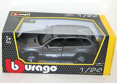 #Burago - bmw x5 (metallic grey) - die cast #model - #scale 1:24,  View more on the LINK: http://www.zeppy.io/product/gb/2/121669311123/