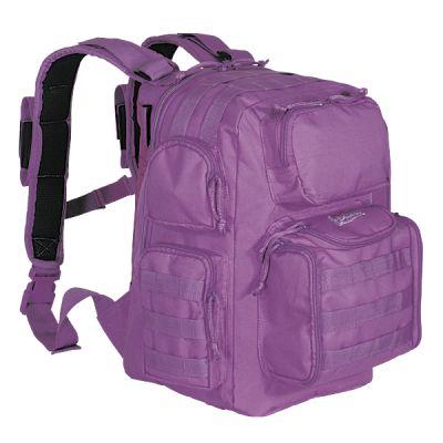Mini-Matrix Purple Backpack
