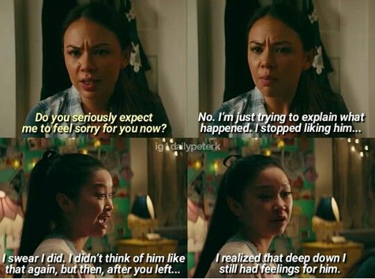 To All The Boys I Ve Loved Before Favorite Movie Quotes Love Movie Romantic Movies
