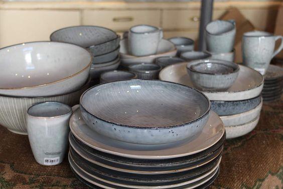 Broste Copenhagen | Tafelgeschirr aus Steingut Nordic Sea / Nordic Sand- Produkte von Lisbeth Dahl und Molly Marais im artandmore-Online-Shop
