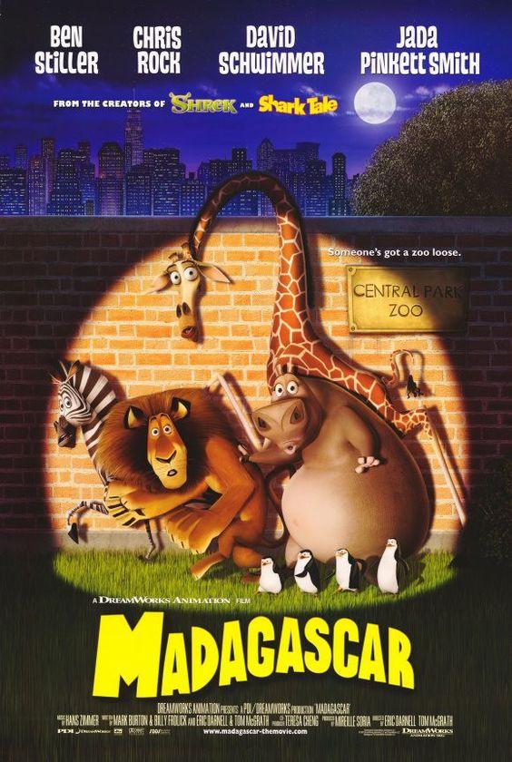 Madagascar 11x17 Movie Poster (2005)