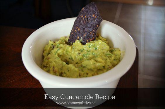 Easy guacamole recipe #glutenfree #dairyfree #vegan #cleaneating #cincodemayo