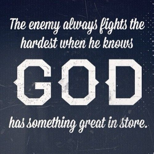 God, Christian Quotes And Enemies On Pinterest