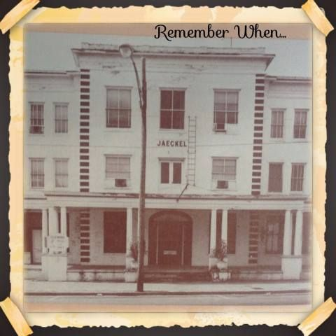 The Jaeckel Hotel In Statesboro Ga Vintage