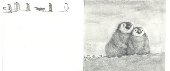 penguin who wanted to find out, illustrated by paul howard