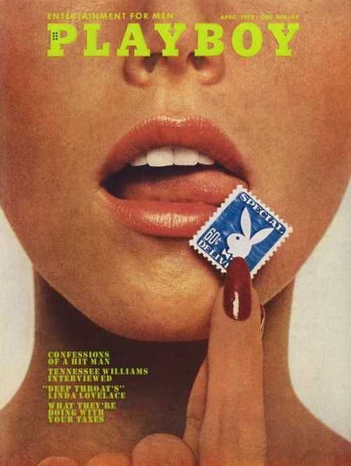 Playboy cover [1974]
